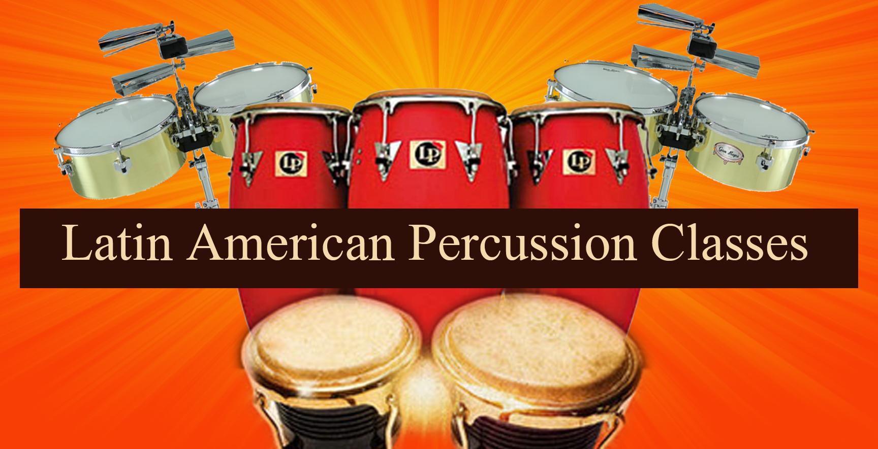 Online Salsa Percussion Classes