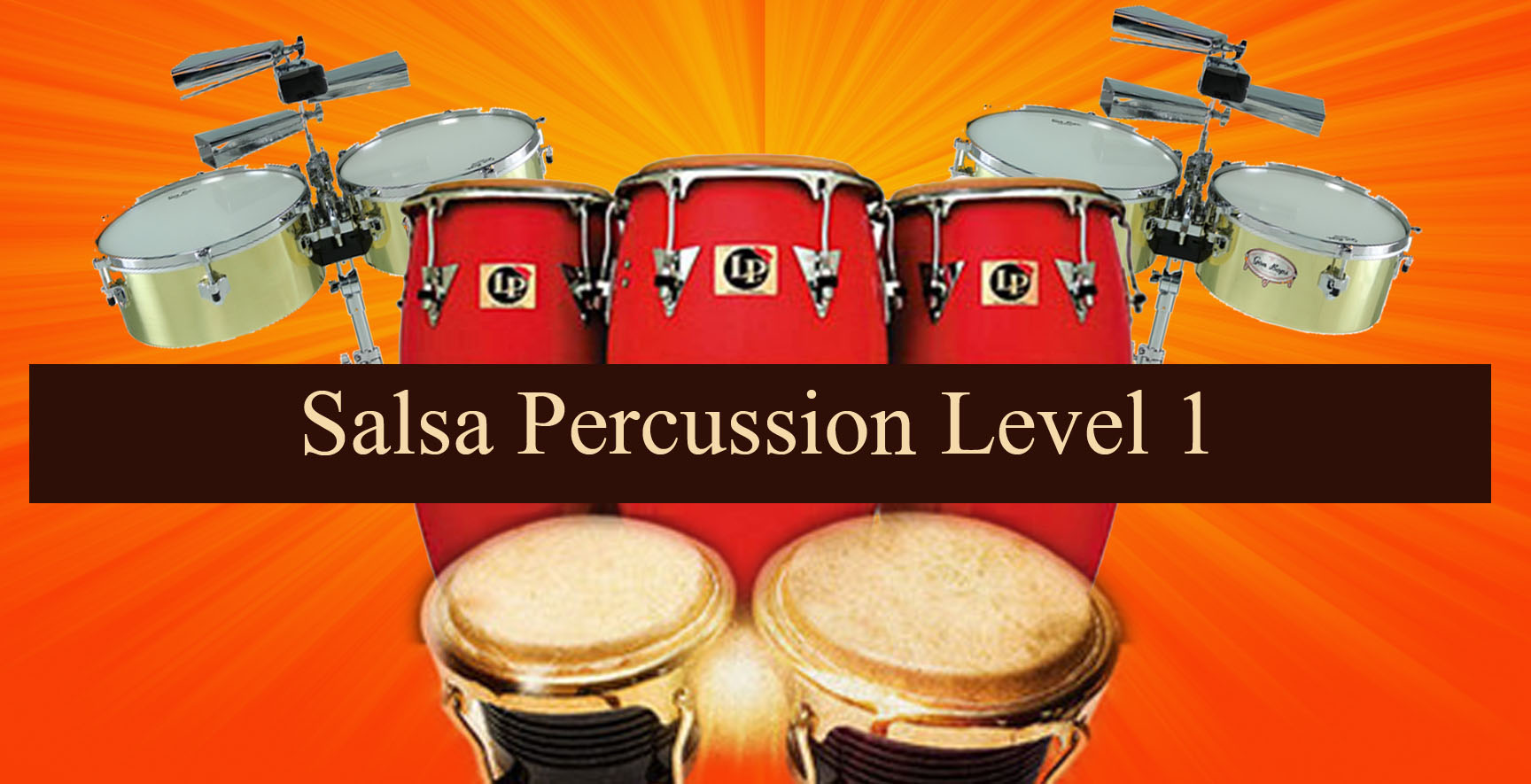 Level 1 Online Salsa Percussion